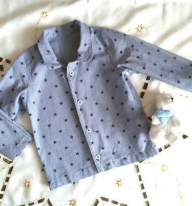 Блуза джинс 80-86см