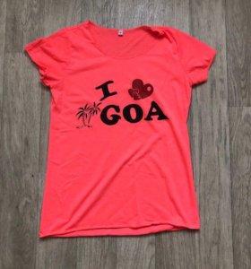 Футболка I love goa