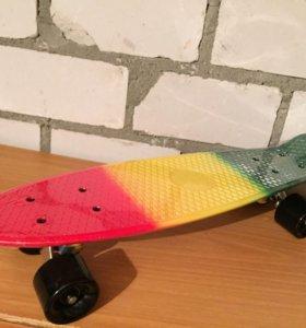 Скейт для ребенка пенни 22 модель Раста