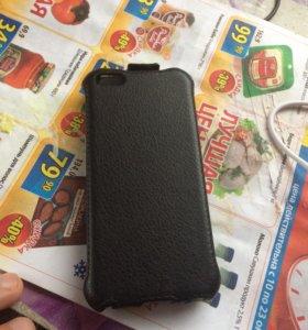 Чехол книжка на айфон 5s