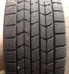 Колеса в сборе (Dunlop 215/55/R16 + диски Honda)