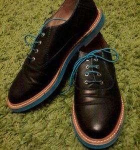 Осенние ботинки (натур кожа)