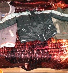 Куртки для мальчика 4-6 лет