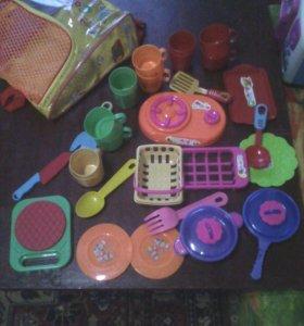 Посудка для кукол