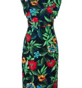 Яркое эффектное платье, новое