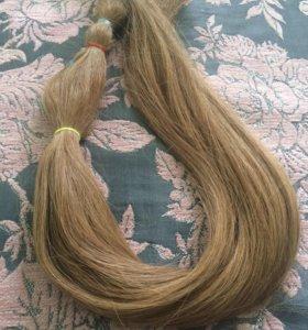 Волосы натуральные для наращивания славянка 70 см