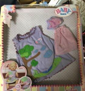 Одежда  на куклу Baby born