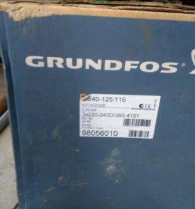 Насос grundfos nb40-125/116