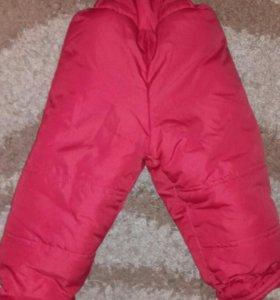 Очень теплые штанишки