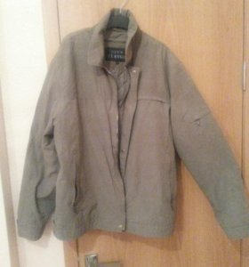 Куртка мужская весна осень с поткладом