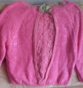 Блузка с блестками 42-44