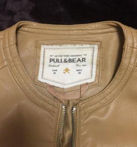 Куртка экокожа Pull&Bear
