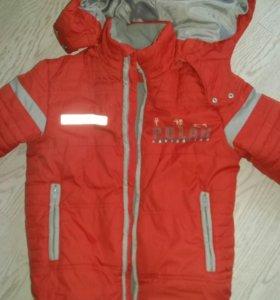 Куртка детская для мальчика.