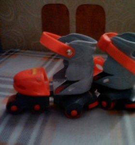 Роликовые коньки для малышей