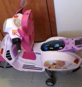 Электромотоцикл для детей.