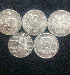 Юбилейные монеты Казахстана