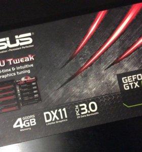Срочно продается видеокарта ASUS GEFORCE GTX 690