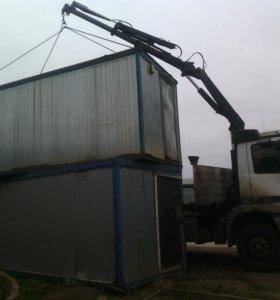 Услуги манипулятора кран 5 тонн борт 10 тонн