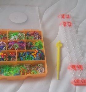 Резинки для плетения и аксессуары к ним