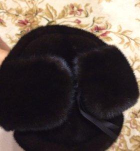 Норковая ушанка