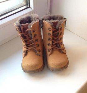 Зимние ботинки Котофей 21 р-ра