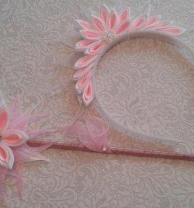 Новый комплект корона/волш.палочка любых  цветов