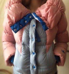 Куртка Адидас  ( Зима)