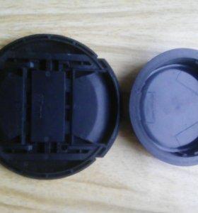 Крышки от объектива Canon.