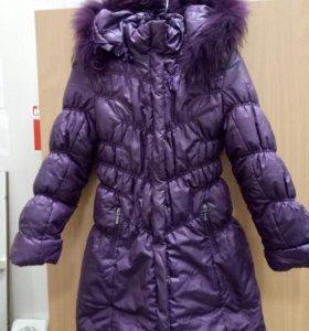 Пальто детское зимнее на девочку.