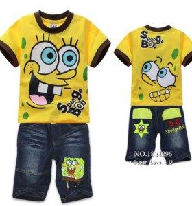 Тутболка и шорты для мальчика