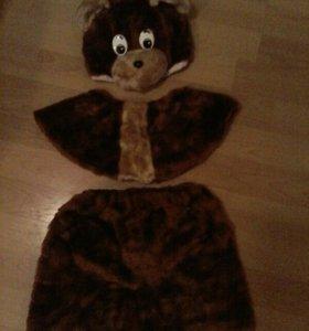 Новогодний костюм/медвежонок и буратино