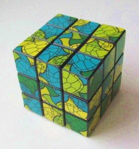 Кубик-рубика с оригинальным рисунком