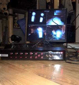 Видеонаблюдение kguard H.264 DVR+жесткий диск 2 Тб