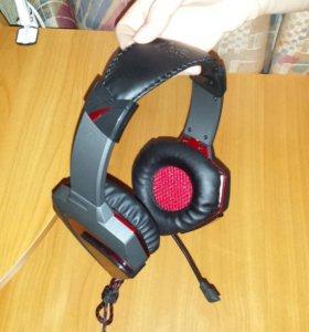 Наушники с микрофоном A4 Bloody G501( Новые )