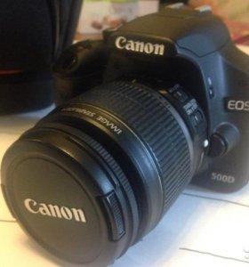 Заркальный фотоаппарат Canon 500D