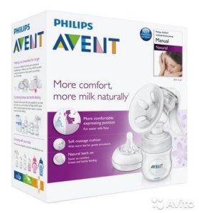 Новый молокоотсос Avent Natural