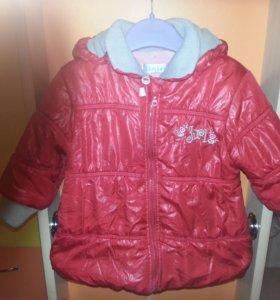 Куртка для девочки демисезон
