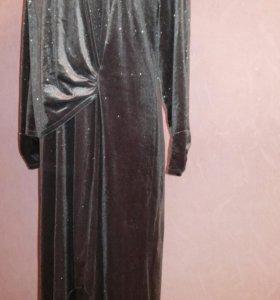 Платье р.52-54 бархат