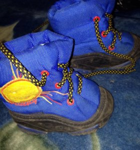 Зимние ботинки димары