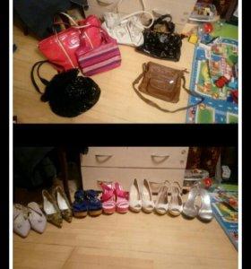 Туфли сумки