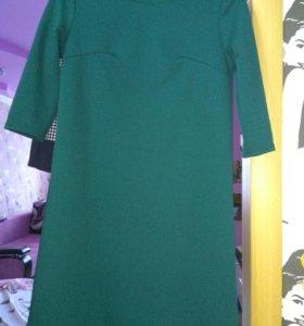 Платье зел