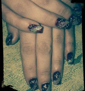 Наращ.ногтей гелем