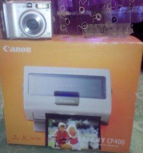 Принтер компактный с фотоаппаратом
