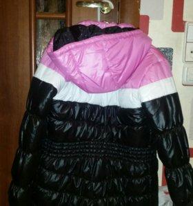 Утепленная куртка 158 см рост