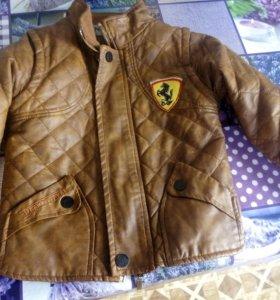 Детская куртка, весна осень.