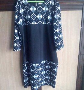 Теплое платье 42-44