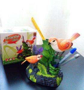 Подарок! Птички певчие!