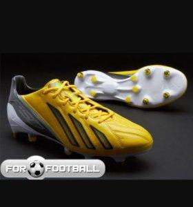 Бутсы новые оригинальные Adidas f50 (кожа)
