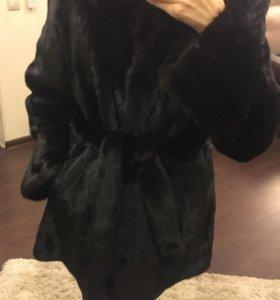 Полушубок норковый blackglama