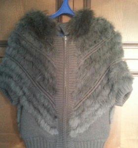 Куртка/жилетка/мех/накидка